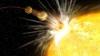 DESCOPERIRE ÎNFRICOŞĂTOARE: Astronomii au observat că o planetă mănâncă stele