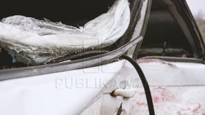 GHINION pentru şoferi! Mai multe maşini au fost sparte noaptea trecută în Capitală (FOTO)