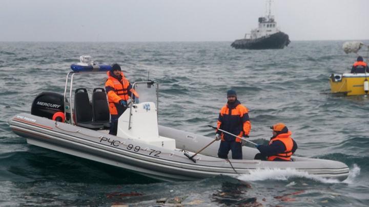 A fost găsită epava avionului Tu-154 prăbușit în Marea Neagră