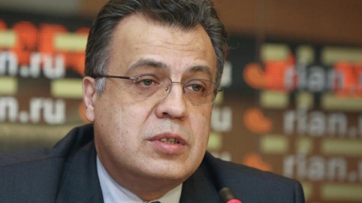 Ambasadorul Rusiei la Ankara a fost UCIS de un terorist, la o expoziţie de artă din Turcia (FOTO/VIDEO)