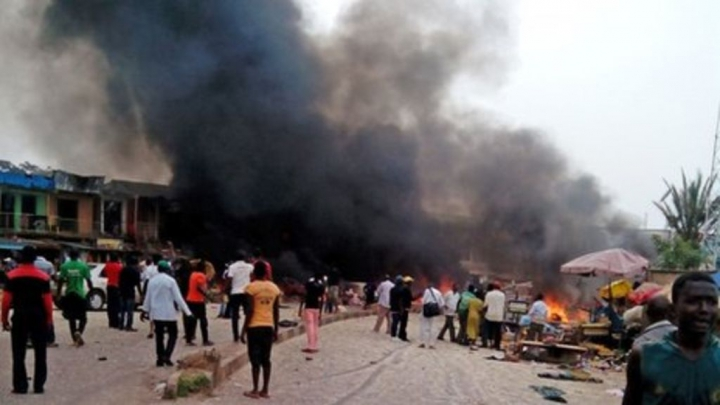 Dublu atentat cu bombă în nord-estul Nigeriei: Zeci de morţi și numeroși răniți