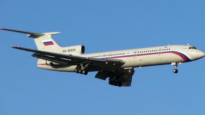 Catastrofa aviatică din Soci: Rusia suspendă zborurile avioanelor TU-154
