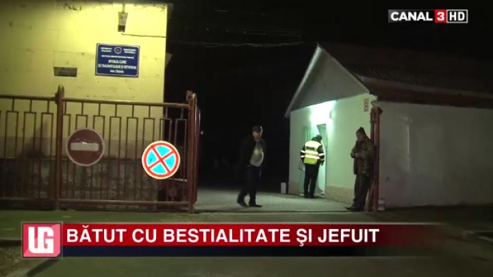 Paznicul unui spital din Capitală, SNOPIT ÎN BĂTAIE (VIDEO)