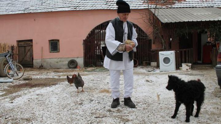 Cel mai bătrân angajat din România are 99 de ani. Ciobanul Ștefan Gros merge cu oile pe munte
