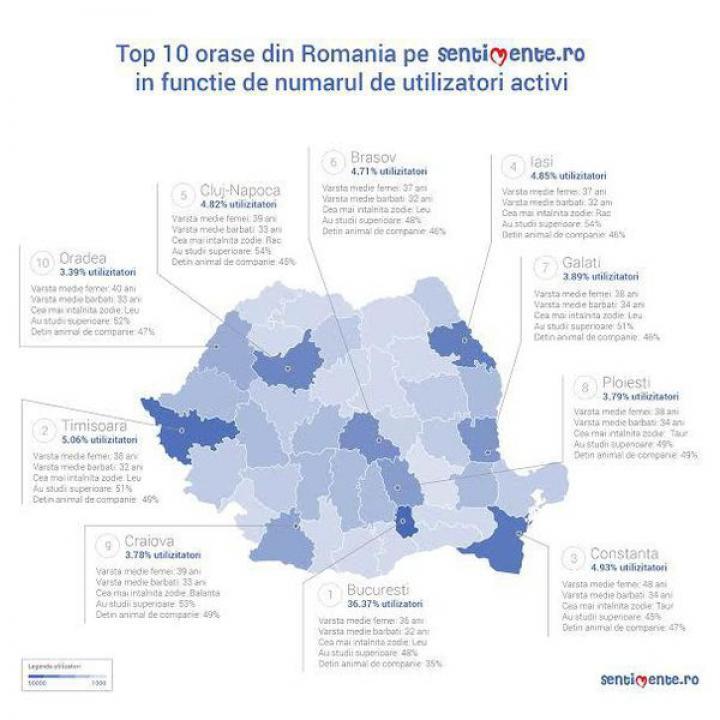 Harta singurătăţii de Sărbători. Topul oraşelor în care trăiesc cei mai mulţi români singuri