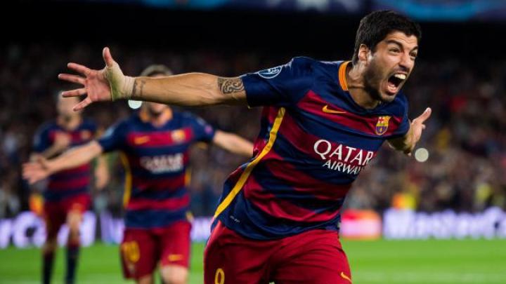 Cu 40 de goluri, Suarez e cel mai bun marcator pentru o echipă de prim eşalon în 2016. Cum arată topul