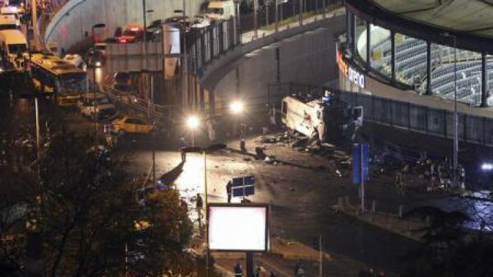 UPDATE: Bilanțul dublului atentat de la Istanbul a crescut la 44 de morți