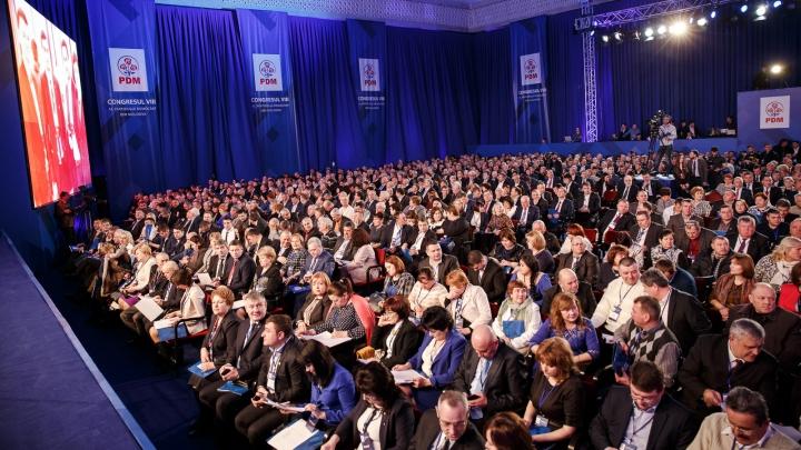 Discursul preşedintelui de onoare al PDM, Dumitru Diacov