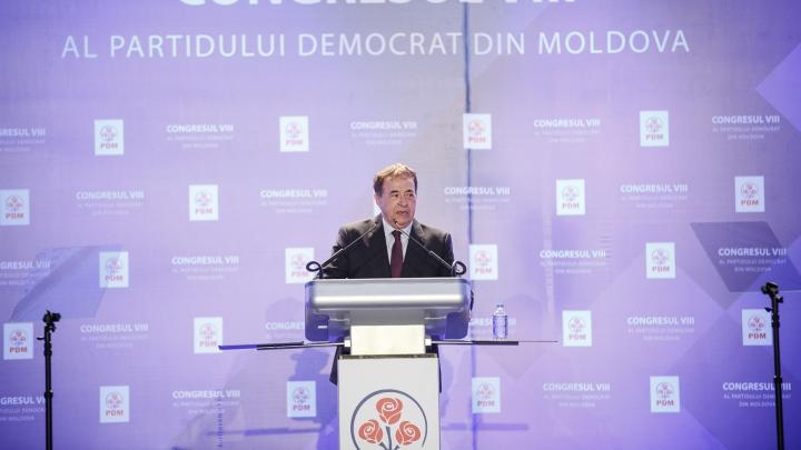 """Secretarul general al Internaţionalei Socialiste, la congresul PDM: """"Moldova trebuie să fie unită"""""""