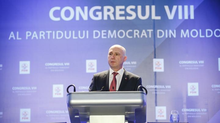 Pavel Filip, ales în funcţia de prim-vicepreşedinte al Partidului Democrat