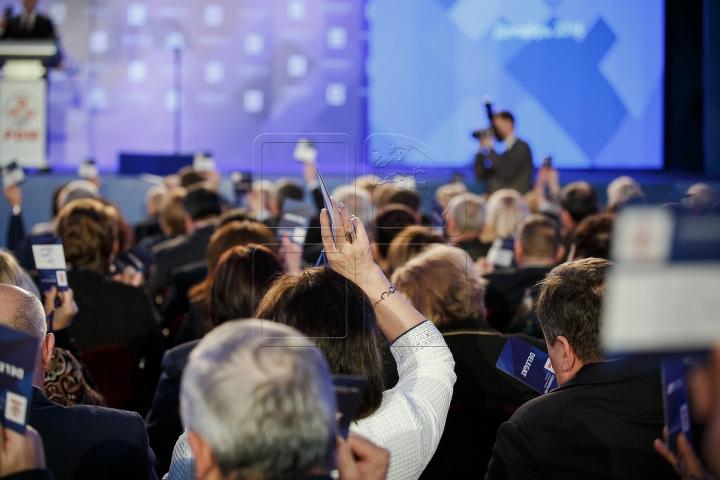 """Congresul VIII al PDM. Vlad Plahotniuc: """"Vom fi un partid care face lucrurile până la capăt"""" (FOTOREPORT)"""