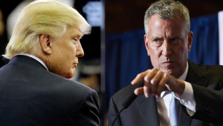 Un nou scandal între de Blasio și Trump. Suma colosală cerută de Primăria din New York pentru paza președintelui ales