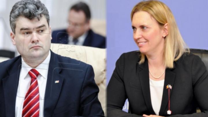 Vicepremierul Gheorghe Bălan s-a întâlnit cu asistentul adjunct al Secretarului de Stat al SUA. Despre ce au discutat