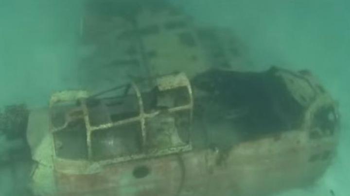 Un videoclip UIMITOR prezintă epavele din timpul celui de-Al Doilea Război Mondial (VIDEO)
