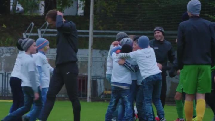 Dorința lui Dan, ÎMPLINITĂ! Echipa din Fetești a jucat un meci amical cu FC Zimbru Chişinău (VIDEO)
