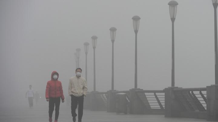 Autoritățile de la Beijing au ridicat codul roșu de smog
