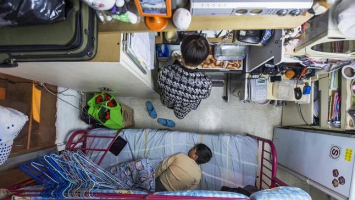 Cum arată viaţa în cele mai mici apartamente din lume (FOTO)