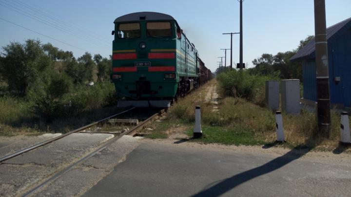 ACCIDENT GRAV în apropiere de Sângera. O maşină, lovită de un tren marfar