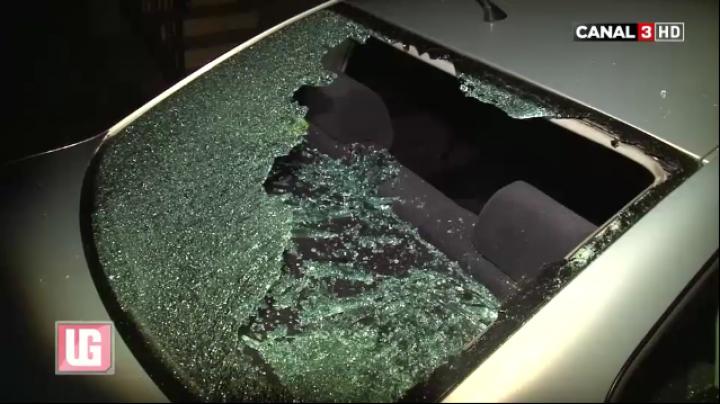 SCANDAL NOCTURN în Capitală: Doi bărbaţi beţi s-au bătut şi au spart parbrizele a două automobile