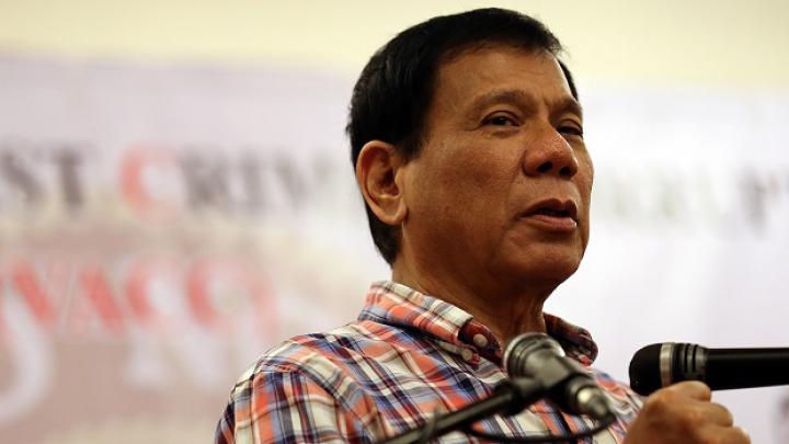 Președintele Filipinelor, noi afirmații șocante: Am aruncat un politician din elicopter
