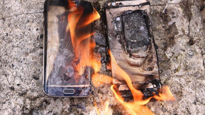 Un Galaxy S6 a explodat într-un avion. E groaznic ce i s-a întâmplat proprietarului