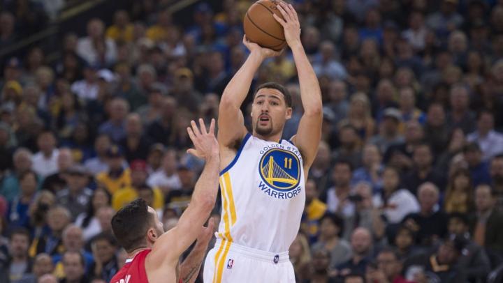 Klay Thompson de la Golden State Warriors a înregistrat un nou record în NBA