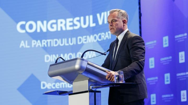 Discursul lui Vlad Plahotniuc, la cel de-al optulea congres al Partidului Democrat din Moldova