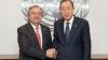 2017 aduce un nou secretar general la ONU. Ban Ki-moon a predat ștafeta lui Antonio Guterres