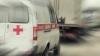 ACCIDENT GROAZNIC cu o ambulanţă. Un medic a zburat prin uşa din spate (VIDEO)