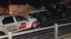 Mai multe maşini de firmă care veneau la reprezentanţă, FĂCUTE PRAF de un taximetrist (FOTO)