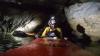 ADRENALINĂ LA MAXIM! Trei amatori au navigat într-o peşteră din Mexic (VIDEO)