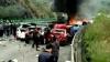 ACCIDENT GROAZNIC pe o autostradă din China: Mai multe mașini au EXPLODAT (VIDEO)