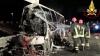 ACCIDENT CUMPLIT în Italia: 16 morţi şi 36 de răniţi, după ce autocarul în care se aflau a luat foc (VIDEO)