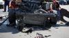 GRAV ACCIDENT în raionul Donduşeni. Cinci persoane au fost rănite, trei fiind spitalizate
