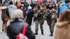MITING VIOLENT ÎN BELGIA. 31 de tineri arestaţi şi zeci de automobile avariate