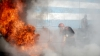 TRAGEDIE în Capitală: Un bărbat a ars de viu în propriul apartament