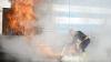 O țeavă de gaz dintr-un bloc A EXPLODAT: 11 oameni, inclusiv doi copii, AU FOST RĂNIŢI