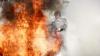 Pompierii, ÎN ALERTĂ! O saună din Chişinău, cuprinsă de flăcări. Două autospeciale, la faţa locului (VIDEO)