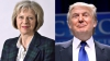Președintele Statelor Unite, Donald Trump, se întâlneşte cu premierul Marii Britanii, Theresa May