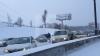 ACCIDENT SCUMP la Moscova! 23 de maşini s-au ciocnit în lanţ din cauza poleiului (VIDEO)