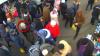 HOAŢA din Piaţa Centrală şi complicii ei, REŢINUŢI de poliţişti (VIDEO)