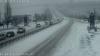 Cum s-a circulat astăzi în Moldova. IMAGINI de pe principalele drumuri din țară (FOTO)
