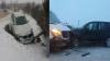 Trei BMW X5, ACCIDENTATE într-o zi. Unul dintre ele s-a ciocnit cu un microbuz de rută (FOTO)