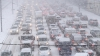 Vremea rea face ravagii în lume: Ninsori abundente şi vânt puternic în Polonia şi Rusia