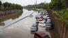 Oraşul Houston a fost inundat în urma ploilor torenţiale