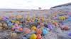 O plajă de pe o insulă din nordul Germaniei a fost acoperită de ouă-surpriză din plastic