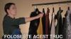 E ATÂT DE SIMPLU! Cum să-ți așezi corect puloverele pe umerașe (VIDEO)