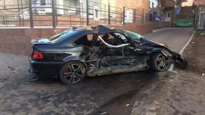 ACCIDENT GROAZNIC la Ciocana! Patru maşini au fost făcute ZOB (FOTO)