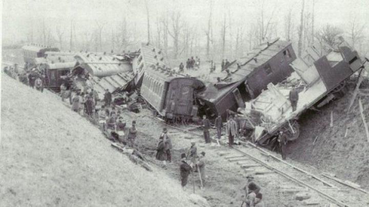 Se împlinesc 100 de ani de la CEL MAI MARE ACCIDENT FEROVIAR din România