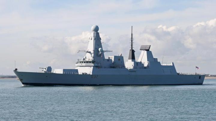 Cel mai modern distrugător britanic, trimis de Theresa May în Marea Neagră